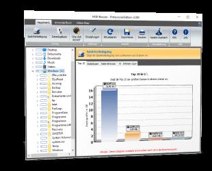 HDD-Booster: Festplatten-Analyse und Speichermanagement ...